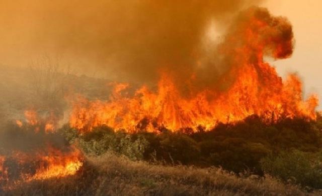 Σε εξέλιξη από χθες δύο φωτιές σε Πάργα και Αγρίνιο