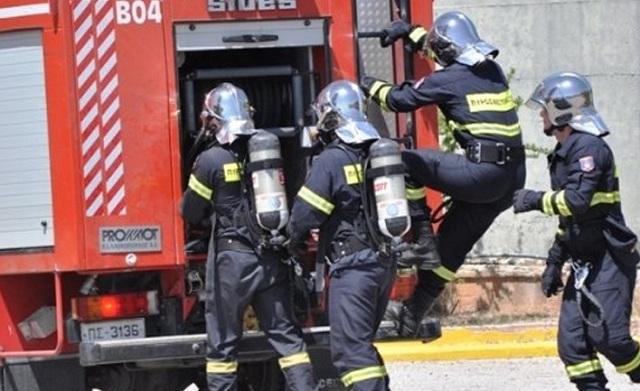 Υπό πλήρη έλεγχο τέθηκε η φωτιά που ξέσπασε σε θερμοκήπιο στο Κιλελέρ
