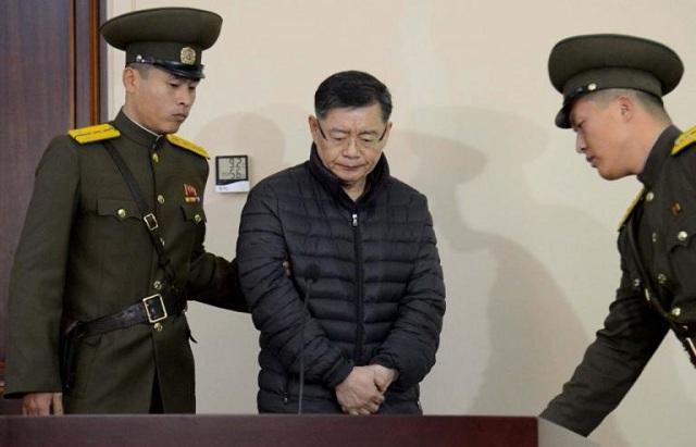 Β. Κορέα: Αποφυλακίστηκε Καναδός πάστορας που είχε καταδικαστεί σε ισόβια καταναγκαστικά έργα