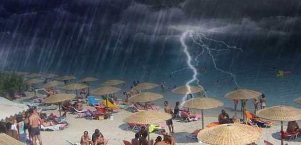 Έκτακτο της ΕΜΥ: Καύσωνας για δύο ημέρες & μετά...καταιγίδες