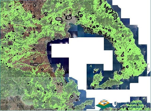 Τροποποίηση της απόφασης ανάρτησης του δασικού χάρτη