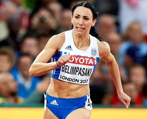 Πρόκριση της Μπελιμπασάκη στα ημιτελικά των 200μ.