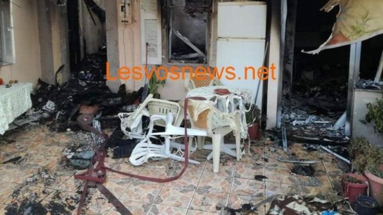 Λέσβος: Δύο αδέλφια νεκρά από πυρκαγιά σε διαμέρισμα