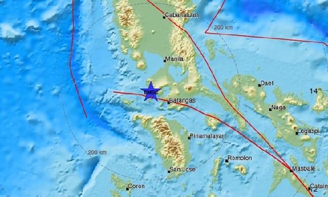 Σεισμός 6,2R στις Φιλιππίνες