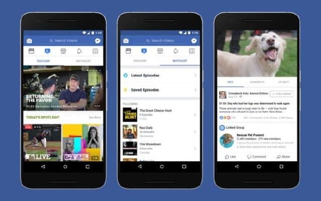 Facebook Watch: Νέα ανταγωνιστική υπηρεσία προς τα YouTube και Netflix