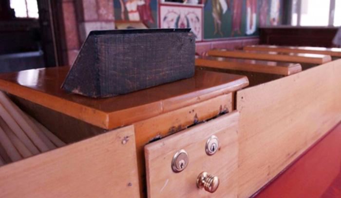 48χρονος μπήκε σε εκκλησία και «άδειασε» το παγκάρι