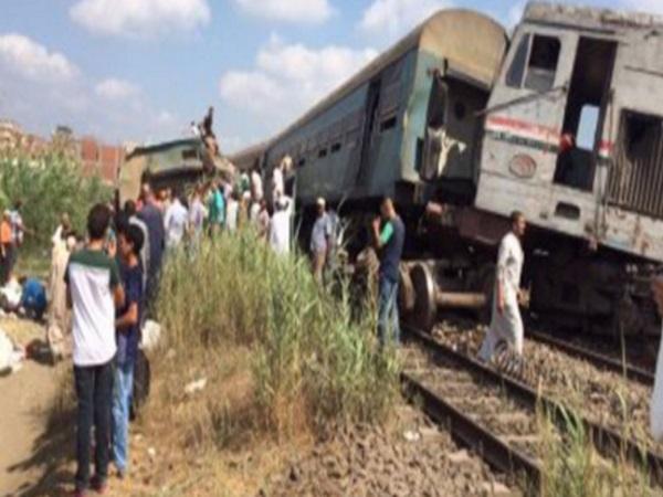 Σύγκρουση τρένων στην Αίγυπτο. 21 νεκροί και 55 τραυματίες