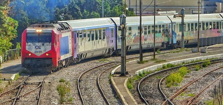 Αρρυθμίες πάλι στα τρένα του ΟΣΕ