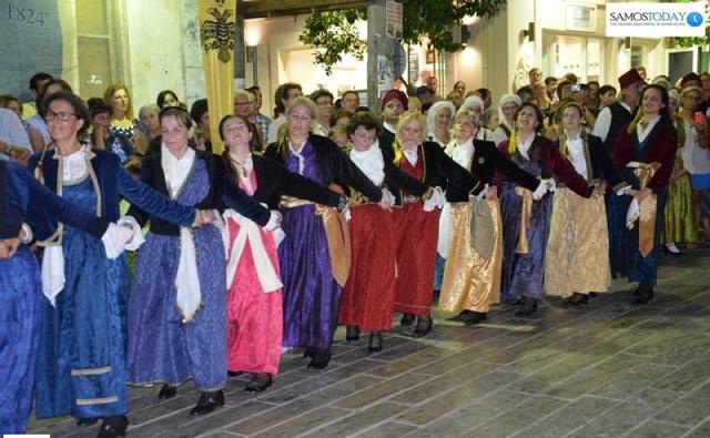 Στη Σάμο το χορευτικό σύνολο της Μητρόπολης