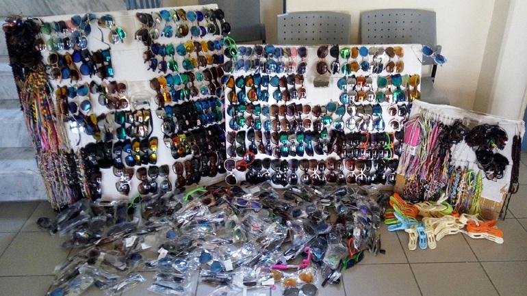 Επιχείρηση κατά του παραεμπορίου στην Χαλκιδική