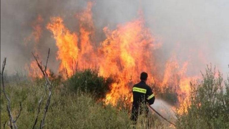 Πυρκαγιά στα Καμένα Βούρλα