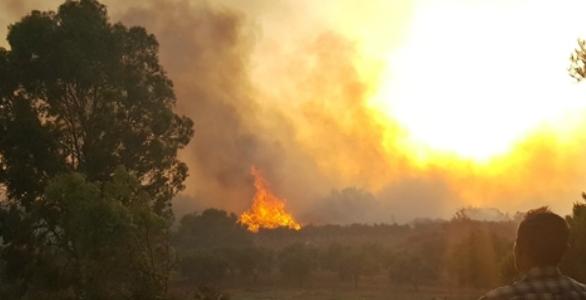 Παραδομένη στις φλόγες η Ζάκυνθος (εικόνες, video)