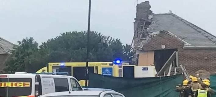 Eκρηξη αερίου τινάζει στον αέρα ένα σπίτι στο Σάντερλαντ (βίντεο)