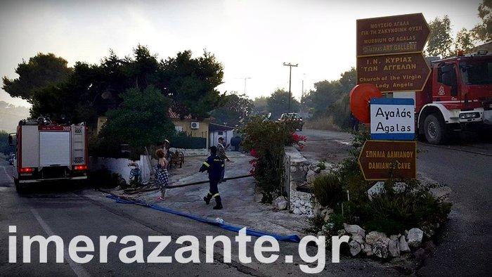 Πύρινη κόλαση για 4η ημέρα στη Ζάκυνθο. Φωτιά και στην Κεφαλονιά