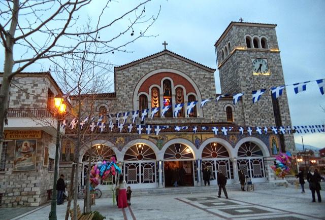 Πανηγυρίζουν οι Ιεροί Ναοί της Μητρόπολης Δημητριάδος