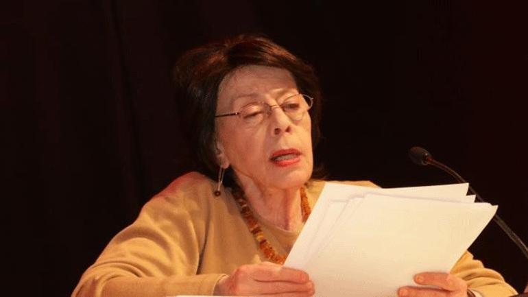 Πέθανε η ηθοποιός και κριτικός θεάτρου Αριστούλα Ελληνούδη