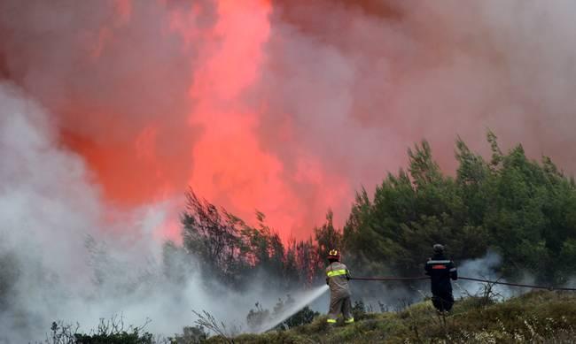 Ποιοι δρόμοι έχουν κλείσει λόγω της πυρκαγιάς