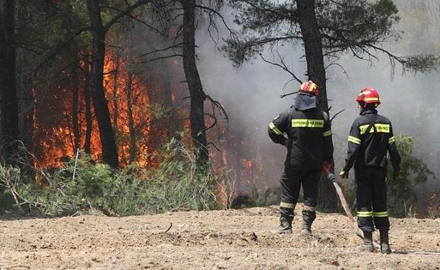 Το συγκλονιστικό μήνυμα πυροσβέστη στο Facebook για τη φωτιά στο Μετόχι