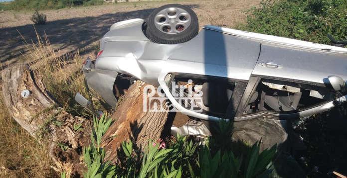 Νεκρός 25χρονος, το αυτοκίνητο καρφώθηκε σε δέντρο