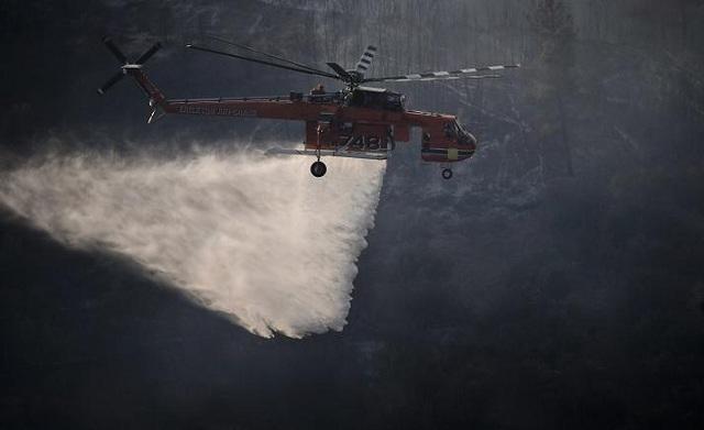 Δεν έρχονται οι Κύπριοι πυροσβέστες λόγω ύφεσης στις φωτιές