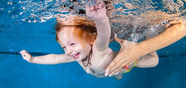 Πρωτοπορούν τα Δελφίνια Βόλου  στην ειδική βρεφική κολύμβηση