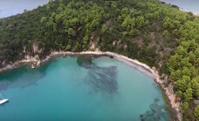 Οι ειδυλλιακές παραλίες της Πρέβεζας από ψηλά [video]