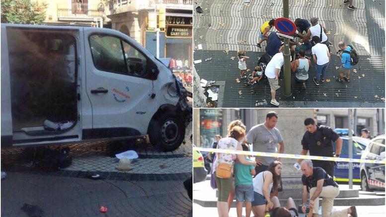 Βαρκελώνη: Τρομοκρατική επίθεση με 13 νεκρούς και 50 τραυματίες
