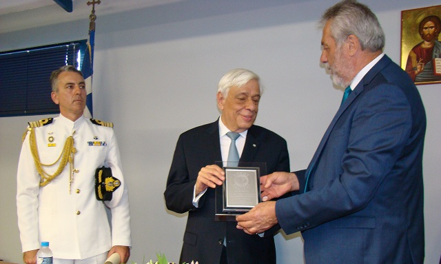 Παυλόπουλος στον Αλμυρό: Τα σύνορα της Ελλάδος είναι σύνορα της Ε.Ε.