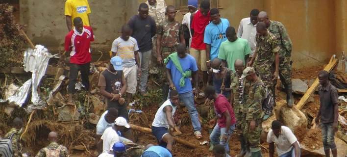 Σιέρα Λεόνε: Μεγάλη κατολίσθηση έθαψε ολόκληρη συνοικία. 461 νεκροί, 600 αγνοούμενοι