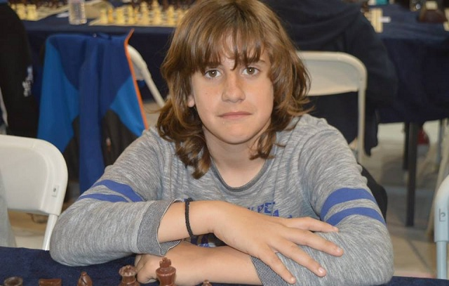 Εξαιρετικός ο 13χρονος Βολιώτης Κων. Τσαρσιταλίδης