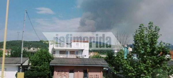 Ηλεία: Μεγάλη φωτιά στα Ροδινά Ζαχάρως - Εκκενώνεται οικισμός
