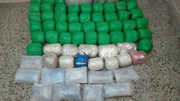 Καστοριά: Βγήκαν ...βόλτα στο βουνό με 78 κιλά κάνναβη στα σακίδια