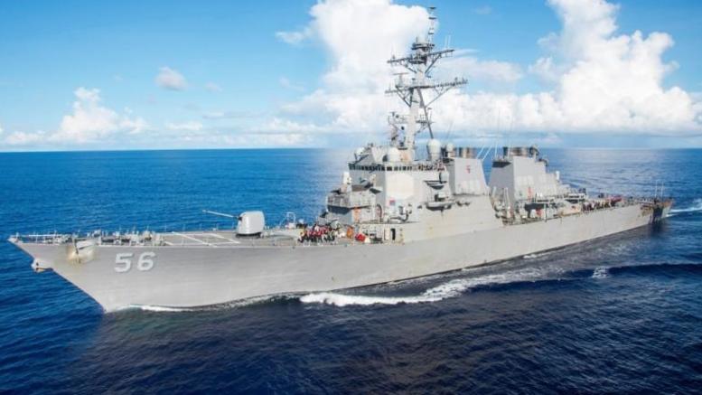 Σύγκρουση αντιτορπιλικού με δεξαμενόπλοιο: 10 αγνοούμενοι