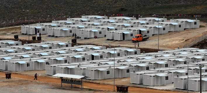 Φωτιά στον προσφυγικό καταυλισμό του Κουτσόχερου Λάρισας