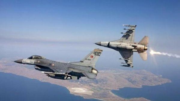 Τουρκικά F-16 πέταξαν πάνω από Αγαθονήσι και Ανθρωποφάγους