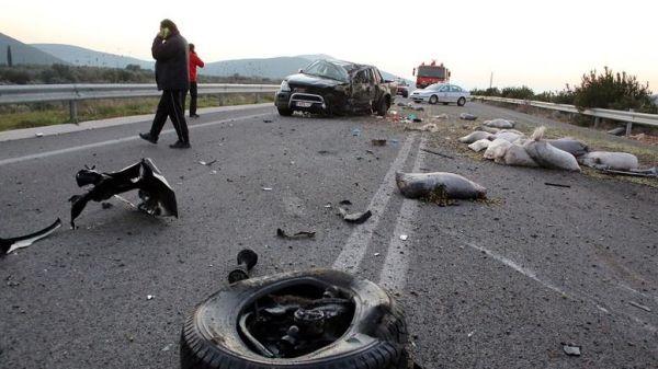 Αυξητικές τάσεις στα τροχαία δυστυχήματα στην Ελλάδα