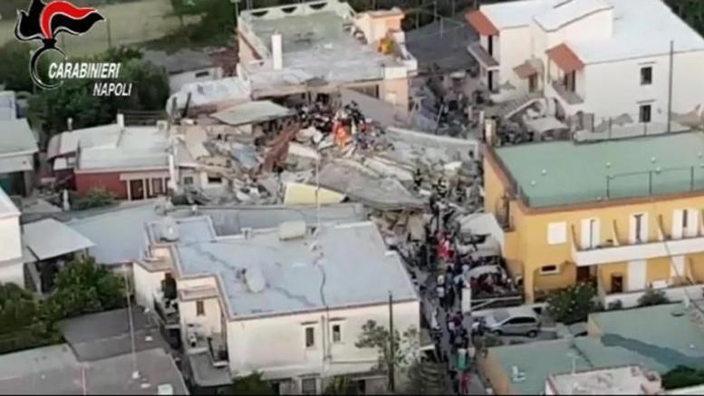 Σεισμός στην Ιταλία: Έχτισαν την πολυκατοικία πάνω σε ένα παλιό υπόγειο