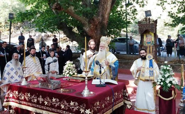 Συνεχίζεται η ανοικοδόμηση της Ιεράς Μονής Κάτω Ξενιάς