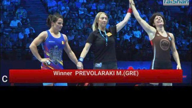 Τρίτη στον κόσμο η Πρεβολαράκη!