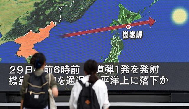 Η Β. Κορέα εκτόξευσε πύραυλο που πέρασε πάνω από την Ιαπωνία