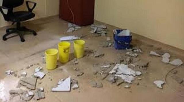 Ανακρίβειες χαρακτηρίζει η διοίκηση του Πανεπιστημιακού τις καταγγελίες για κατάρρευση οροφής