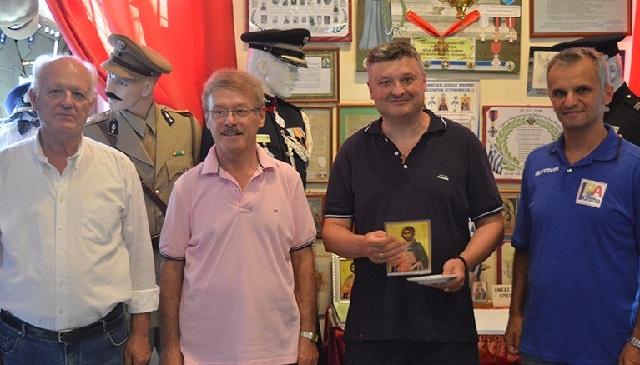 Επίσκεψη υψηλόβαθμου αξιωματικού της Αστυνομίας του Νις στην Καρδίτσα