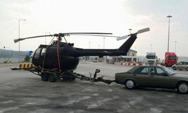 Δάγκωσε τον λιμενικό για να μην ελέγξει το... ελικόπτερο που μετέφερε
