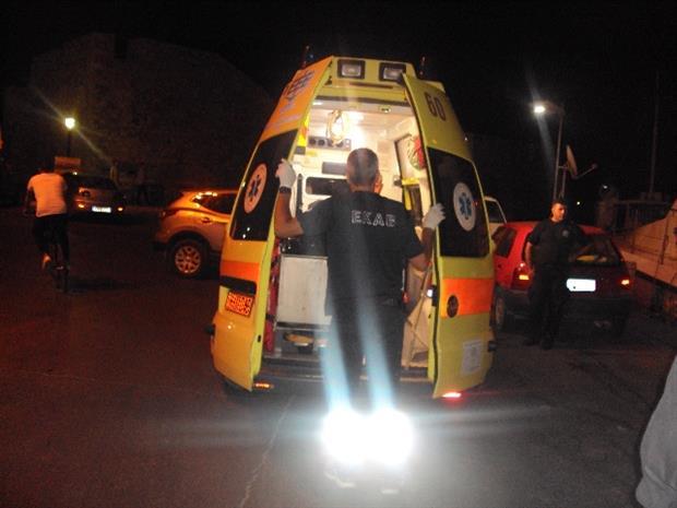 Ενας τραυματίας σε σύγκρουση αυτοκινήτου με μηχανή στη Λάρισα
