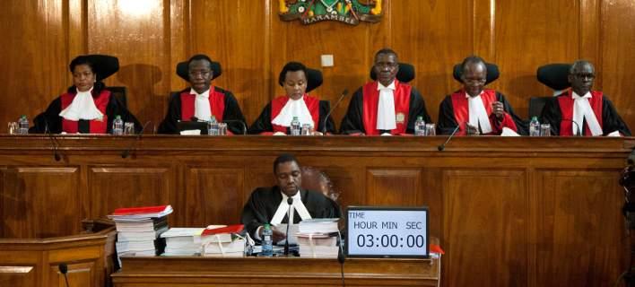Ανώτατο Δικαστήριο Κένυας: Ακυρη η νίκη του Κενυάτα, θα γίνουν νέες εκλογές