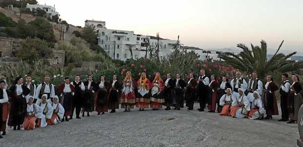 Εντυπωσίασε το χορευτικό τμήμα του Πολιτιστικού Συλλόγου Κεραμιδίου