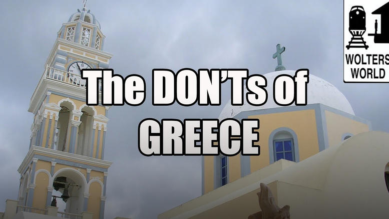 Tι να μην κάνετε όταν επισκεφτείτε την Ελλάδα: Το απολαυστικό viral βίντεο