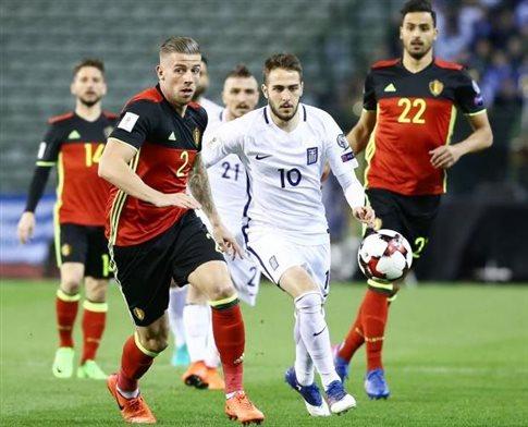 Ελλάδα - Βέλγιο (21:45) με μοναδικό στόχο τη νίκη