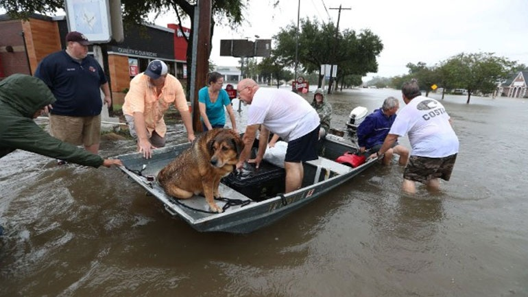 Τέξας: Έως 180 δισ. δολάρια εκτιμάται το κόστος των καταστροφών από τον τυφώνα Χάρβεϊ
