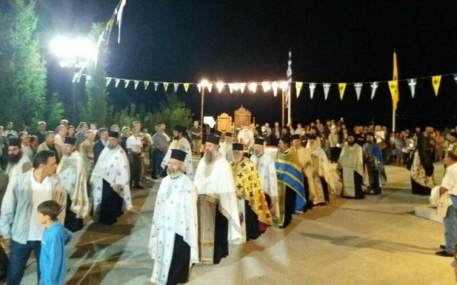 Ο Μητροπολίτης Καισαριανής στην πανήγυρη της Μονής Παμμεγίστων Ταξιαρχών Πηλίου